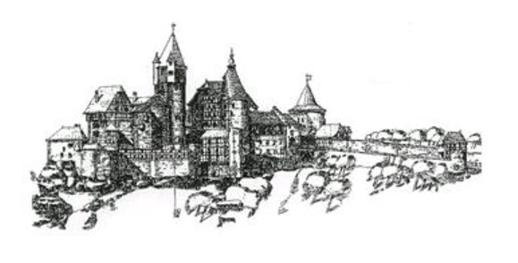 Schramberg Castle Sketch